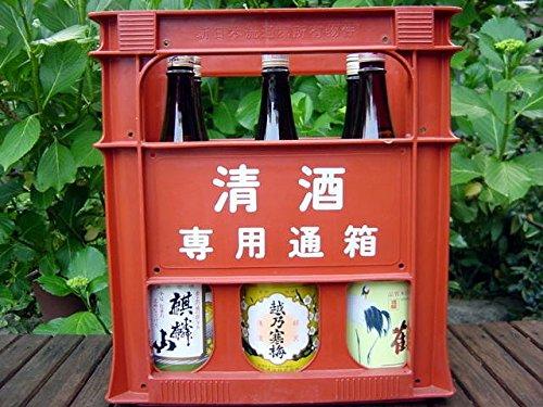 石本酒造 越乃寒梅 別撰 と新潟の地酒 一升瓶6本  B0181YBAM8