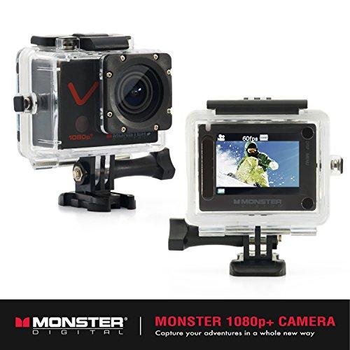 Monster Vision 1080p+ 60fps Sports Action Camera Kit
