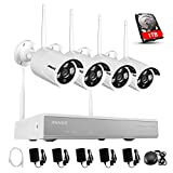 Annke 960P 4-Channel Wireless Network Security System with 1TB Hard Drive and (4) 1.3MP Weatherproof IP Cameras Built-in WIFI Module, Superior Night vision Review