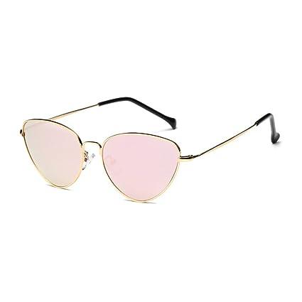 Gafas, Challeng Hombre y mujer de verano retro gafas de gato Moda neutra Plancha de