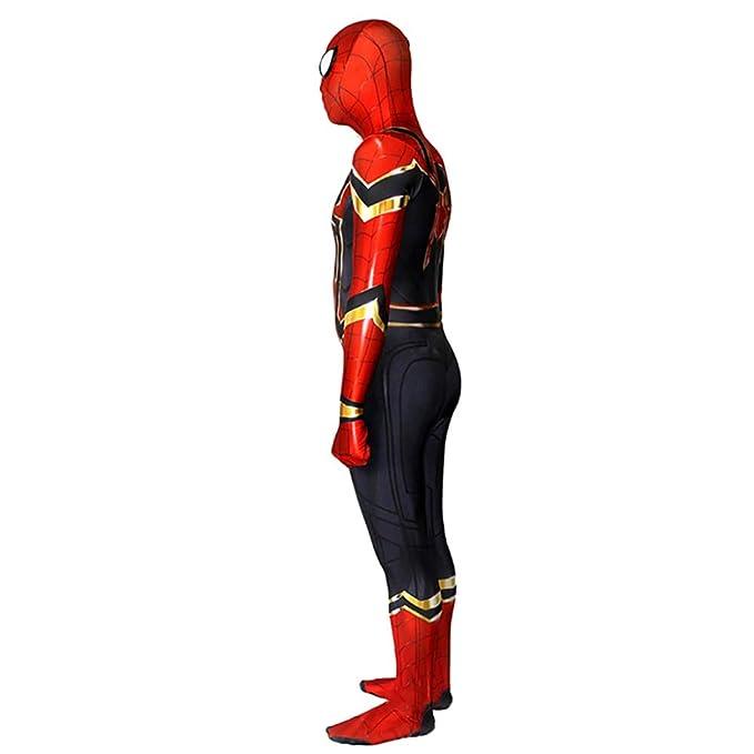 KAHONG Disfraz De Spiderman Homecoming Impresión Digital 3D ...