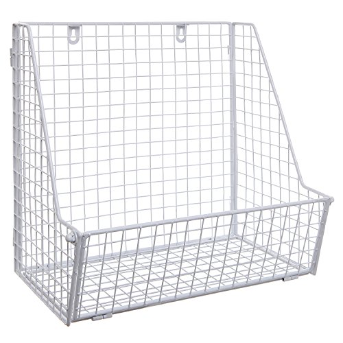 hanging file storage baskets - 6