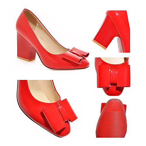 Thin Patent Low Women Round High Size Leather 36 Heel camel Shors Plus cut WCFSFrIaxq
