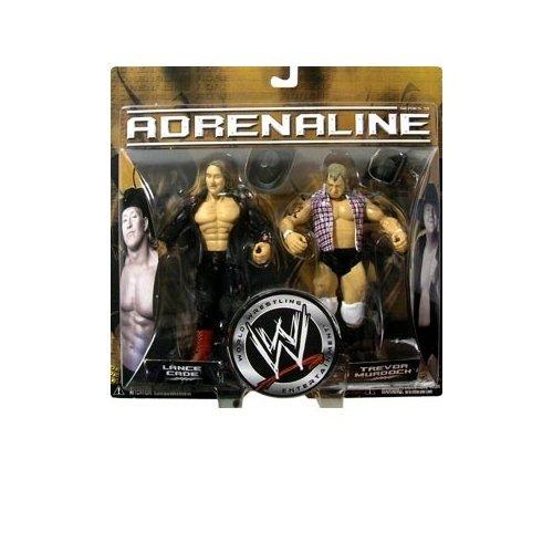WWE Adrenaline Series 18 Lance Cade and Trevor Murdoch Action Figure by Jakks Pacific