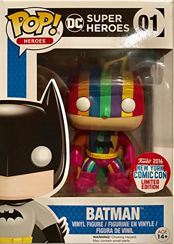 - Funko POP! DC Super Heroes Batman Rainbow Detective NYCC 2016 Limited Edition #1