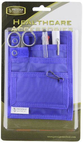 Prestige Medical Belt Loop Organizer Kit, Royal by Prestige Medical