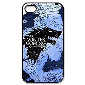 SUUER Custom Game of Thrones Skin Personalized Custom Hard CASE for iPhone 4 4s Durable Case Cover