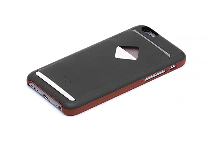 the best attitude c2a0e ec3c2 Bellroy Leather iPhone 6 Phone Case - 3 Card - Charcoal Tamarillo