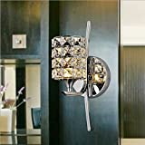 Modern Dimmable Crystal LED Wall Light Sconce Lamp Indoor Lighting
