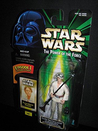 (Qiyun Star Wars Luke Skywalker w Blaster Rifle Episode I Flashback Photo POTF 1998 076281840369)