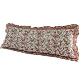 cotton Korean large backrest / princess wind cotton long pillow / active printing three-dimensional sofa pillow / ( Size : 15053cm , Style : Right angle )