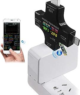 USB tipo C, USB C, tester di sicurezza tester di tensione USB voltmetro multimetro tester di tipo C USB tester corrente potenza Amp caricabatterie, alimentazione corrente tester PD
