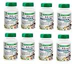 Nature Spec Kid's Chewable Milk Calcium Vitamin D3 Premium, Children Bone Teeth Support, TruCal Complex D50, Dietary Supplement, Natural Ingredients, Vanilla Flavor, GMP, 60 Tablets (8)