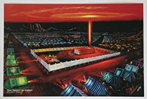 """""""Moses' Tabernacle in the Wilderness"""" 100 Oversized Post Cards (5x8)"""