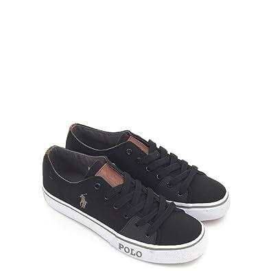 c7a5da4b42aa RALPH LAUREN Chaussures RALPH LAUREN CANTOR - Noir - Taille 40 ...