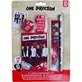 Official 1D One Direction 5 Piece School Stationery Set
