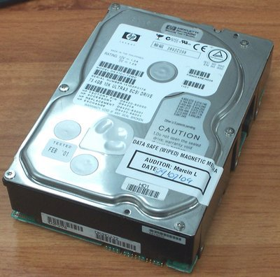 (HP P4621-63001 HP 73.4GB hot-swap Ultra3 SCSI hard drive - 10,000 RPM, low prof (P462163001) )