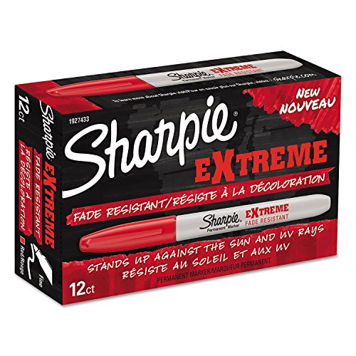Product of Sharpie Extreme Maker, Fine Point, Red, 12pk. - All Pens [Bulk Savings] ()