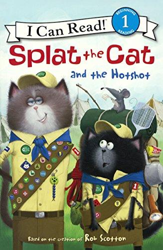 Download Splat The Cat And The Hotshot (Turtleback School & Library Binding Edition) (Splat the Cat: I Can Read!, Lveel 1) pdf