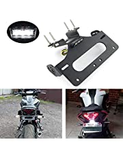 Xitomer Tail Tidy, Fender Eliminator Fit for FZ-07 MT-07 2014 2015 2016 2017 2018 2019 2020, with LED License Plate Light, Compatible with OEM / Stock Turn Signal