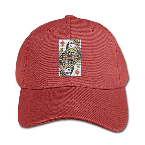 Poker Cotton Hat - Elephant AN King and Queen Poker Cards Pure Color Baseball Cap Cotton Adjustable Kid Boys Girls Hat
