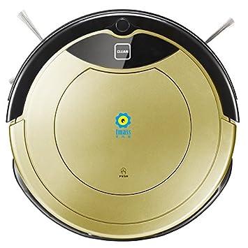 Robot aspirador imass vacío DS seco y húmedo Mopping Anti Colisión Sistema Incluso a carga: Amazon.es: Hogar