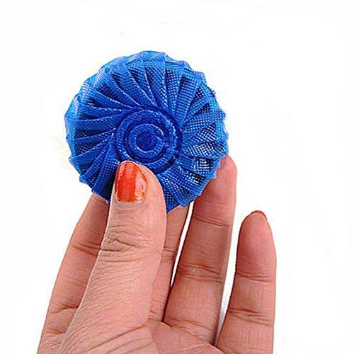 10PCS Durable Strong Decontamination Durable Toilet Deodorant Blue Bubbles Automatic Toilet Cleaner Detergent