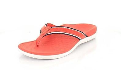 d4ee50e5c47c Vionic Women s Tide Sport Deep Sea Coral Patent Leather Sandal