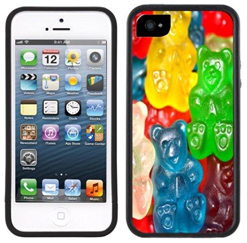 Gummy Bears | Christlich | Handgefertigt | iPhone 5 5S | Schwarze Hülle