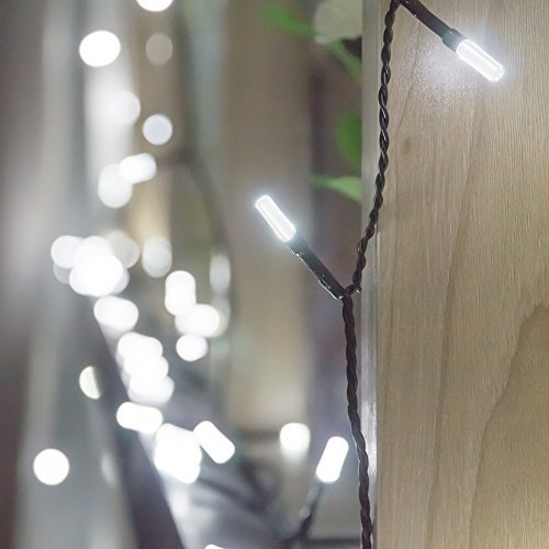 Led White Icicle Lights Outdoor