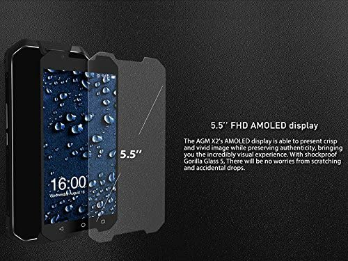 AGM X2 Smartphone Rugged Android 7.1 IP68 ROM 128GB Octa Core RAM ...