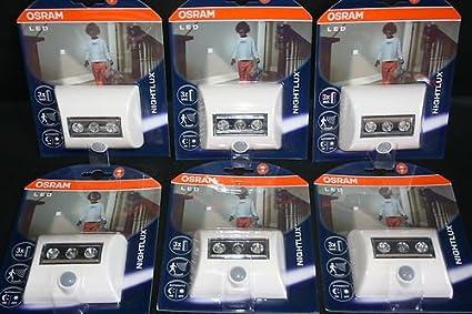 Osram LED Nightlux - Luz nocturna LED con sensor de movimiento y de claridad (6