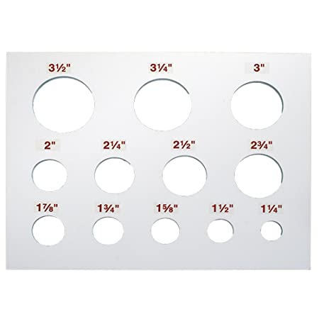Router Circle Template By Peachtree Woodworking - Pw1057: Amazon.co ...