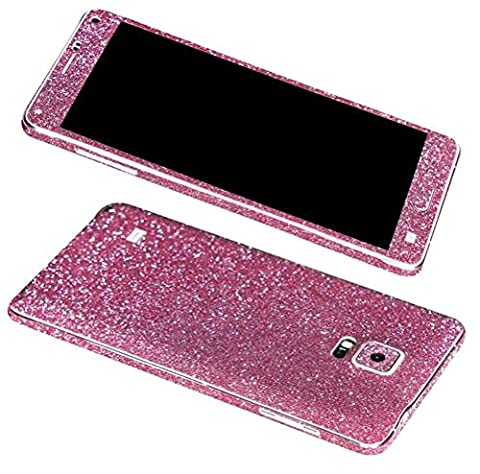 Rejected all traditions Samsung Galaxy Note 4 Bling Glitter Whole Body Protector Film Sticker (Note 4 Case Of Rats)