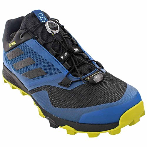adidas Outdoor Men's Terrex Trailmaker GTX? Tech Steel/Black/Unity Lime Sneaker 7 D (M) (Adidas Mens Steel Watch)