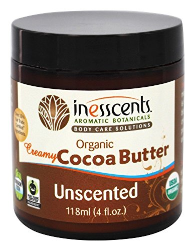 (Inesscents, Cocoa Butter Creamy Unscented, 4 Ounce )