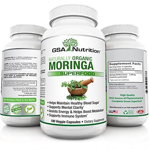 Oleifera Superfood Capsules GSA Nutrition product image