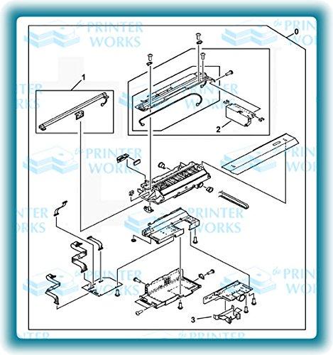Hewlett Packard Lens Cap - HP RB2-7902 HP 9000MFP FLATBED ADF SCANNER LENS COVER