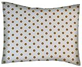 SheetWorld Crib/Toddler Percale Baby Pillow Case