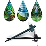 Genenic Automatic Watering Spikes,Plant Self Watering Devices Plant Waterer Nannies Drip Irrigation System for Indoor Outdoor Garden Plant(Color Random) (10Pack)