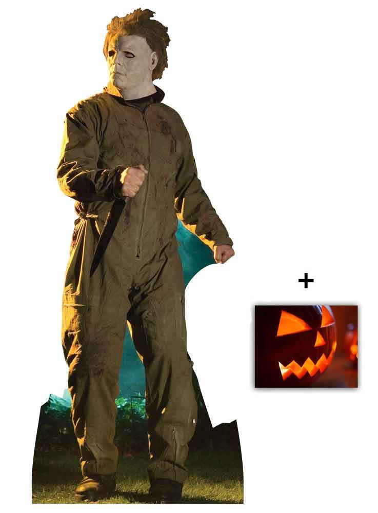 Enth/ält 8X10 25X20Cm starfoto Michael Myers Halloween Stalking Pose Lebensgrosse Pappfiguren // Stehplatzinhaber // Aufsteller
