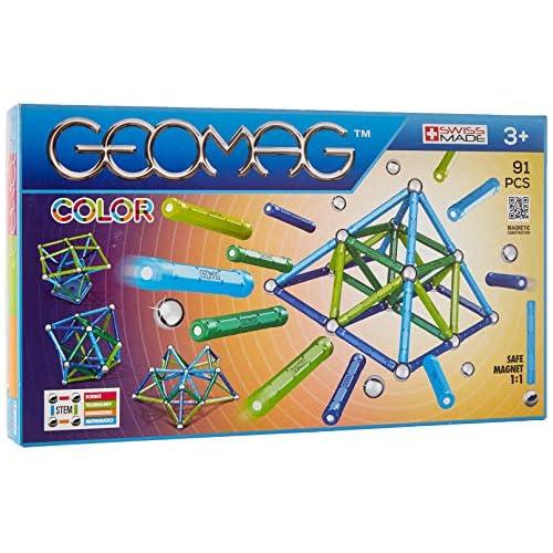 chollos oferta descuentos barato Geomag 263 Classic Color Juego de construcción magnético 91 Piezas PF 510 263 00 Multicolor