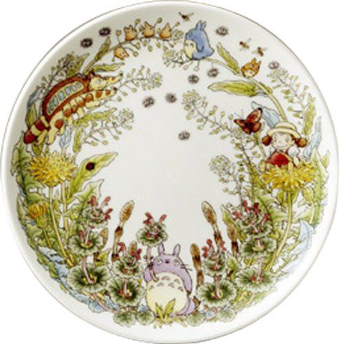 Noritake X Studio Ghibli Neighbor Totoro Dia 230mm Dish Plate T50116A/4660-2 (Noritake Fine China Japan)