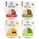Assortit Superfood Quinoa Meal Pack 4 Variety Flavors Ready To Eat Gluten Free Non GMO 7.9 Ounce (4-Count)