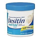 Desitin Diaper Rash Cream, Rapid Relief, Creamy 16 oz (454 g)(Pack of 3)