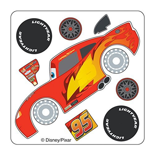 Disney Cars Lightning McQueen Make Your Own Stickers - Birth