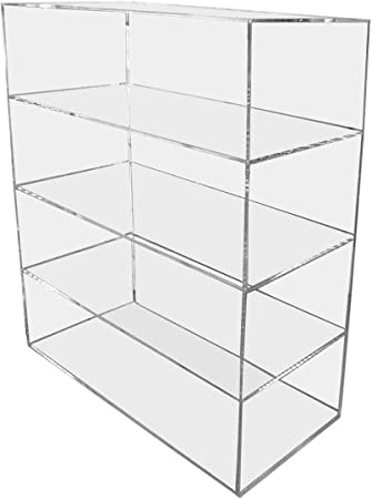 Displays2buy Acrylic Lucite 12 x 7 x 16 Countertop Display Case ShowCase Box Cabinet