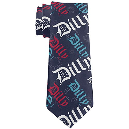 4th Of July Dilly Dilly Pattern Fireworks All Over Neck Tie Multi Standard One (Fireworks Pattern)