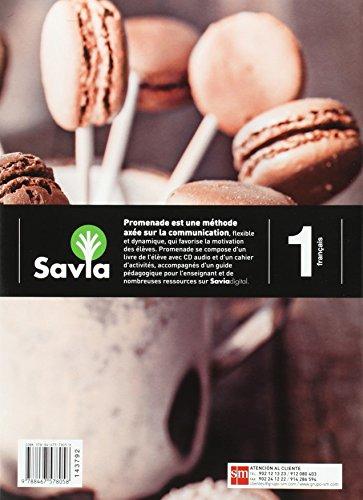 51AwitH8DpL Promenade est une méthode axée sur la communication, flexible et dynamique, qui favorise la motivation des élèves. Promenade se compose d'un livre de l'élève avec CD audio et d'un cahier d'activités, accompagnés d'un guide pédagogique pour l'enseignant et de nombreuses ressources sur Savia digital. Promenade est un coédition avec Hachette.
