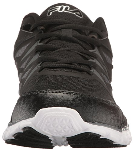 Metallic 2 Black Memory Sendoff Cross Shoe Men's Fila Castlerock Silver Trainer qaz4pnwB